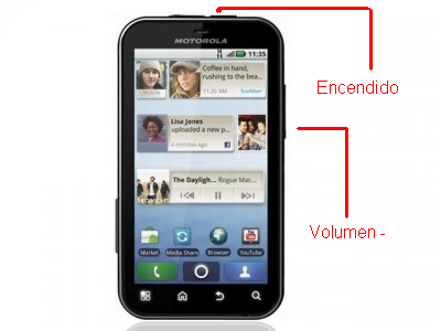 Como Resetar Motorola MB525 MB526 ?