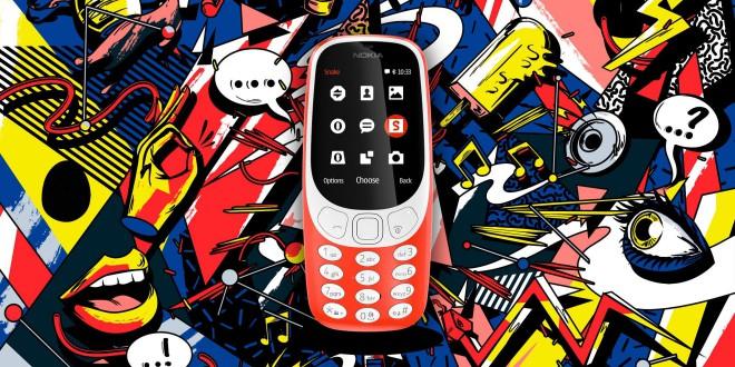 """Nokia Relança o """"indestrutível"""" 3310"""