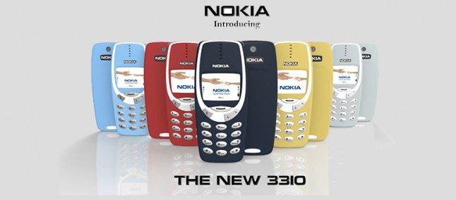 """Nokia quer relançar Nokia """"indestrutível"""" 3310"""