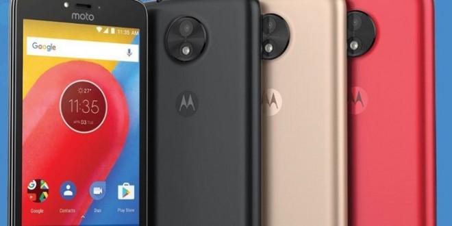 Motorola apresenta seus novos celulares de entrada; Moto C e Moto C plus