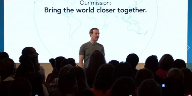 Facebook lança nova missão para a rede social e quer unir seus usuários