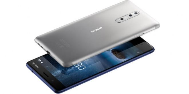 Conheça o novo lançamento da Nokia. O Nokia 8