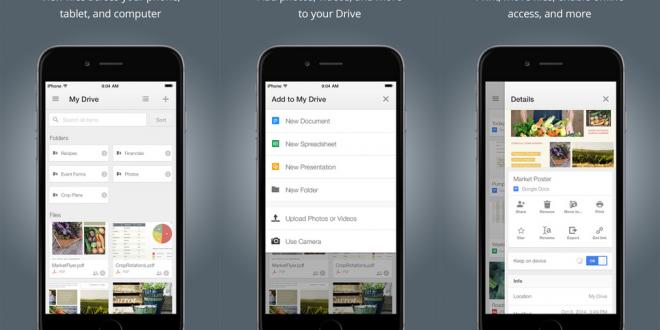 Saiba como acessar seus arquivos do Google Drive através do novo gerenciador de arquivos do ios 11