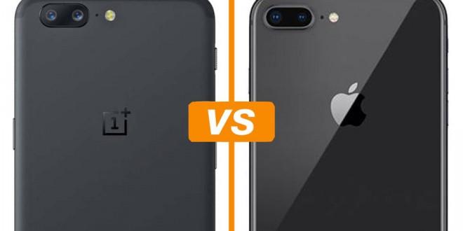 Veja um comparativo entre iphone 8 e OnePlus 5 os celulares mais potentes do mercado segundo o Antutu Benchmark