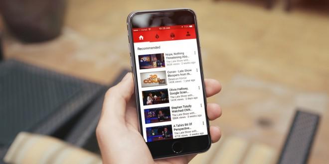 Youtube está drenando bateria de iphones segundo relatos de usuários