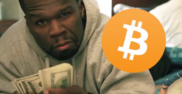 50 Cent descobre que tem uma fortuna de U$ 7 milhões em bitcoins