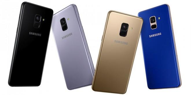 Samsung revela preços e data de chegada dos novos Galaxy A8 e A8+